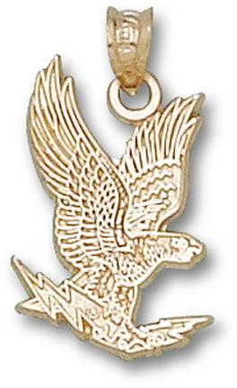 """Air Force Academy Falcons """"Falcon"""" 3/4"""" Pendant - 10KT Gold Jewelry"""