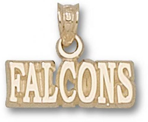 """Air Force Academy Falcons """"Falcons"""" Pendant - 10KT Gold Jewelry"""