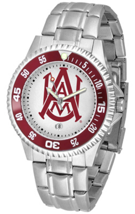 Alabama A & M Bulldogs Competitor Watch with a Metal Band
