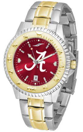 Alabama Crimson Tide Competitor AnoChrome Two Tone Watch