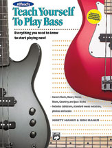 Alfred 00-14876 Teach Yourself to Play Bass - Music Book
