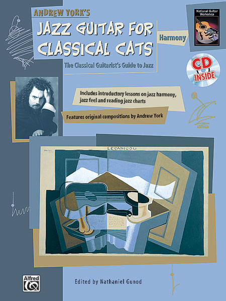 Alfred 00-18471 Jazz Guitar for Classical Cats- Harmony - Music Book