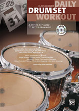 Alfred 00-20156US DAILY DRUMSET WORKOUT-BK&CD
