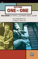 Alfred 00-23808 Rhythm- One on One - Music Book