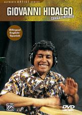 Alfred 00-906291 Giovanni Hidalgo- Conga Virtuoso - Music Book