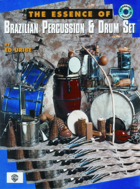 Alfred 00-EL03920CD The Essence of Brazilian Percussion & Drum Set - Music Book