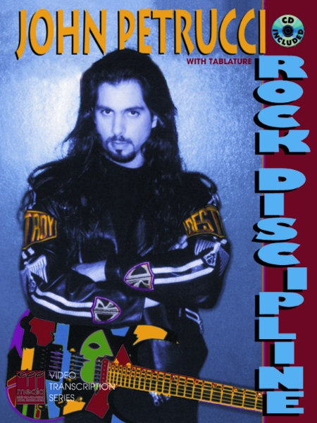 Alfred 00-REHBK010CD Rock Discipline - Music Book