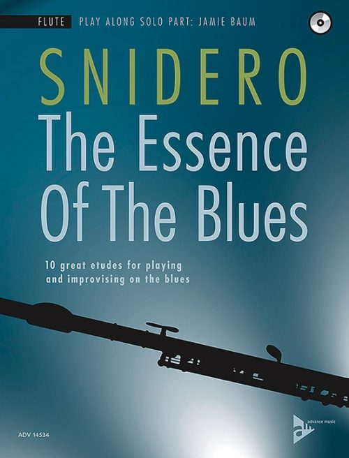 Alfred 01-ADV14534 The Essence of the Blues - Flute Book & CD