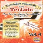 Alfred 62-CK4D Canciones Populares Para Teclado Vol. 4