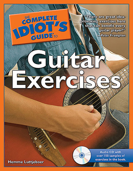 Alfred 74-1592579723 The Complete Idiot s Guide to Guitar Exercises - Music Book