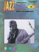 Alfred Publishing 00-SB9802 Jazz Improvisation: Studies for Technical Development - Music Book