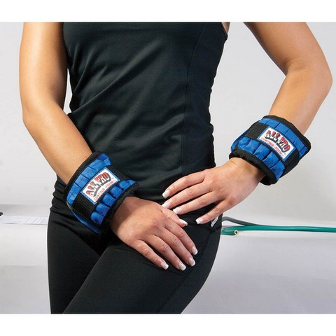 All Pro Exercise Products ALP103 4 lbs All Pro Adjustable Hands-Free Weights Set of 2