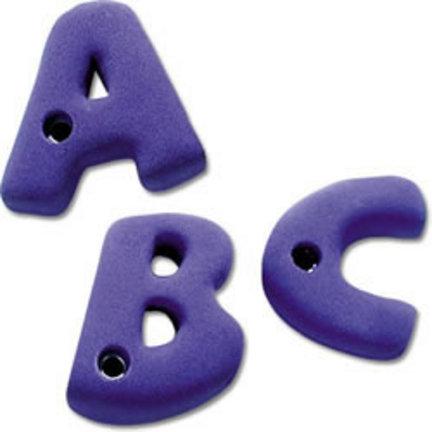 Alphabet Rock Climbing Wall Hand Holds (Set of 26)