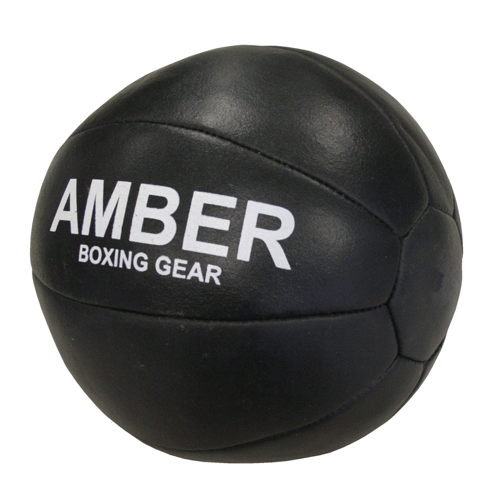 Amber Fight Gear AMB-3001-20 Leather Medicine Ball 20 lbs.