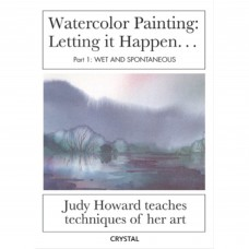 American Educational CP0164 Water Color Painting 1 Wet & Spontaneous