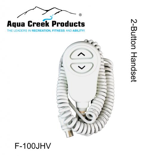 Aqua Creek Products F-100JHV 2-Button Ranger Lift with 2pc Vito Controls Handset