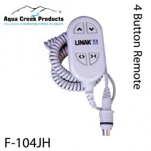 Aqua Creek Products F-104JH 4-Button Pro Spas Scout Rev & Titan Handset 2pc Controls