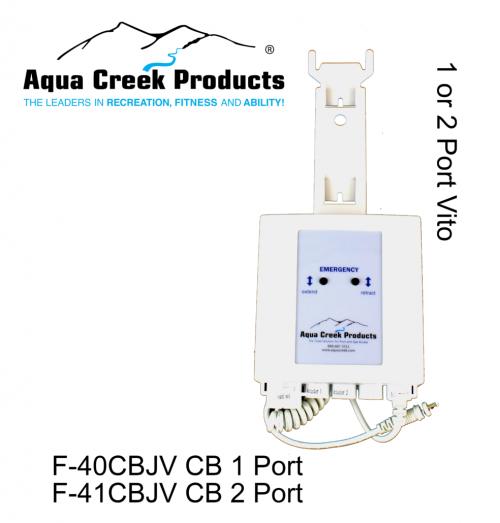 Aqua Creek Products F-40CBJV Replacement Ranger Vito Control Box