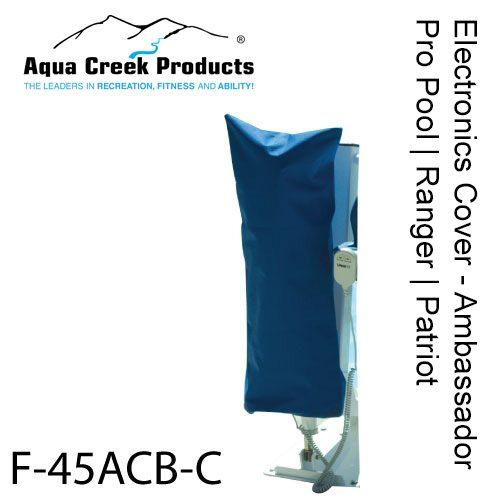 Aqua Creek Products F-BCC-11 PEZ Rev & Titan Cover for Control Box Scout Blue