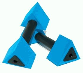 Aqua Jogger ActiveBells Triangular Blue