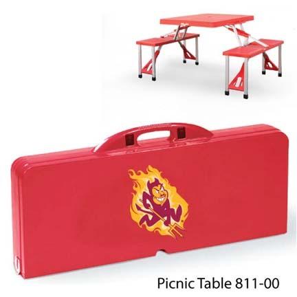 Arizona State Sun Devils Portable Folding Table and Seats