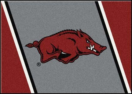 "Arkansas Razorbacks ""Running Razorback"" 3'10""x 5'4"" Team Spirit Area Rug"