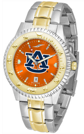 Auburn Tigers Competitor AnoChrome Two Tone Watch