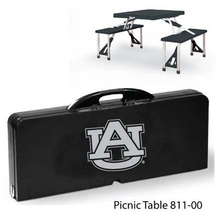 Auburn Tigers Portable Folding Table and Seats
