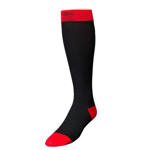 BSN Medical 7769622 15 - 20 mm NV - X Sport Socks for Men Black & Red - Large