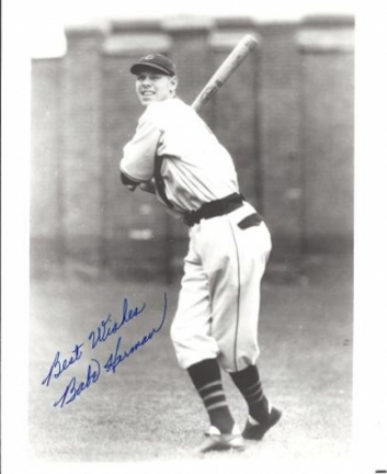 """Babe Herman Autographed 8"""" x 10"""" Photograph (Deceased) (Unframed)"""