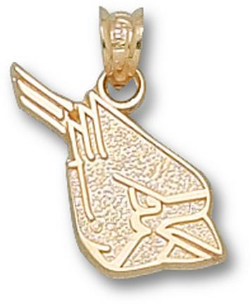 "Ball State Cardinals ""Cardinal Head"" Pendant - 10KT Gold Jewelry"