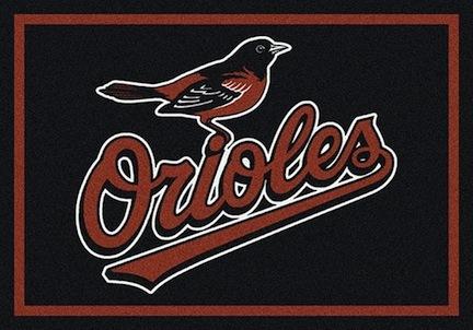 "Baltimore Orioles 3'10"" x 5'4"" Team Spirit Area Rug"