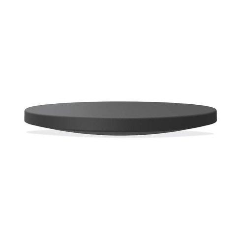 Basyx by HON BSXVL982T Circle Wobble Board with Anti-Fatigue Mat Black