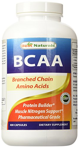 Best Naturals 614148 800 mg BCAA 400 Capsule