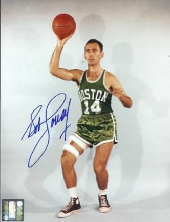 "Bob Cousy Autographed Boston Celtics 8"" x 10"" Photograph Hall of Famer (Unframed)"