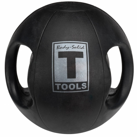 Body Solid Tools BSTDMB8 Dual Grip Medicine Ball 8 lbs.