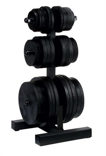 Body Solid WT46 Olympic Weight Tree and Bar Holder