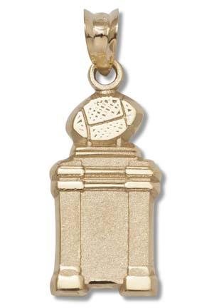 "Bowl Championship Series (BCS) Coaches' Trophy 5/8"" Pendant - 10KT Gold Jewelry"