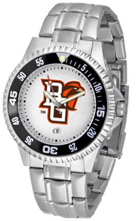 Bowling Green State Falcons Competitor Watch with a Metal Band