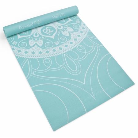 Brybelly Holdings SYOG-078 3 mm Waterfall Premium Printed Yoga Mat