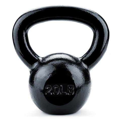 BrybellyHoldings SWGT-205 20 lbs. Cast Iron Kettlebell