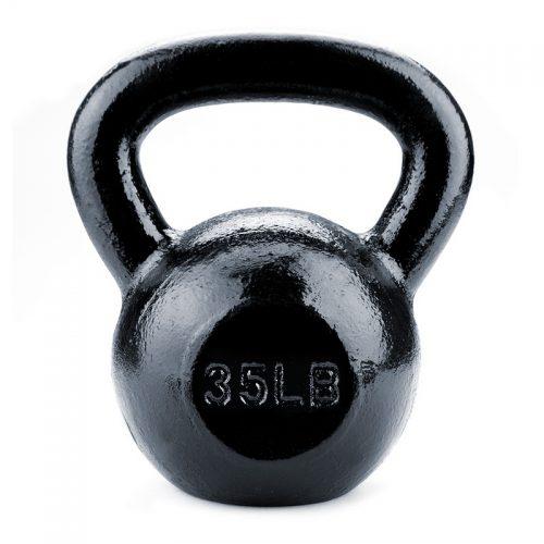 BrybellyHoldings SWGT-208 35 lbs. Cast Iron Kettlebell