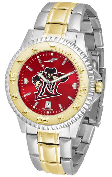 California State (Northridge) Matadors Competitor AnoChrome Two Tone Watch