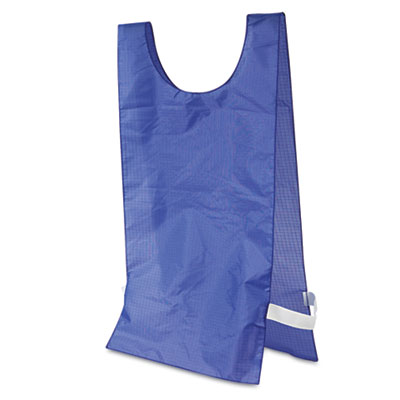 Champion Sport NP1BL Heavyweight Pinnies Nylon One Size Blue 12 per Pack