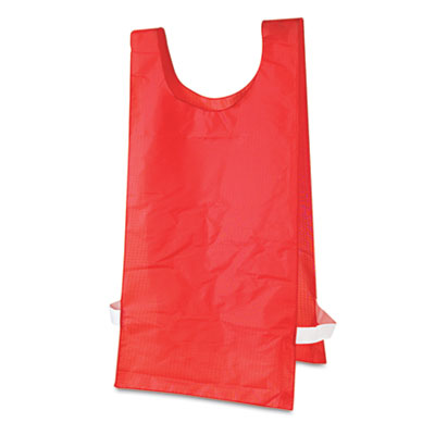 Champion Sport NP1RD Heavyweight Pinnies Nylon One Size Red 12 per Pack