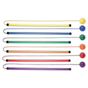 Champion Sport TJSET Twirl & Jump Set Plastic Assorted Colors 6 Sets