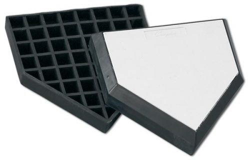 Champion Sports 030573 Waffle Style In Ground Home Plate