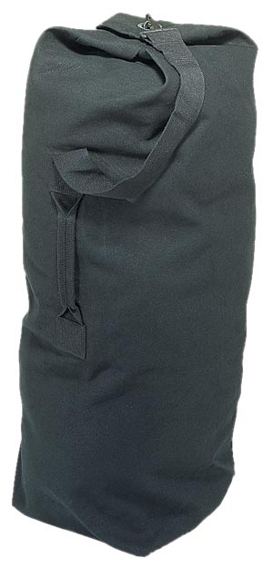 Champion Sports 13259 Black 36 in. x 21 in. Canvas Duffle Bag