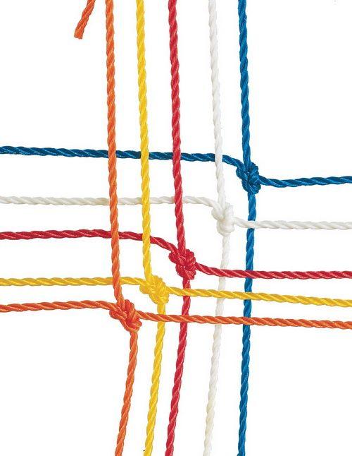 Champion Sports 203BL 3.0 mm Official Size Soccer Net Royal Blue