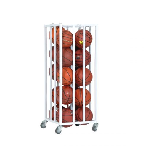 Champion Sports 20BC Vertical Ball Cage White